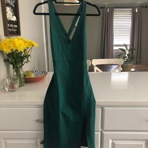 Lulus emerald green dress. never worn
